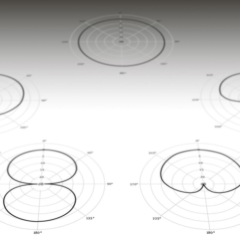Cardioid, Omni, Figure-8 – Why Do Microphones Have Different Pickup Patterns?