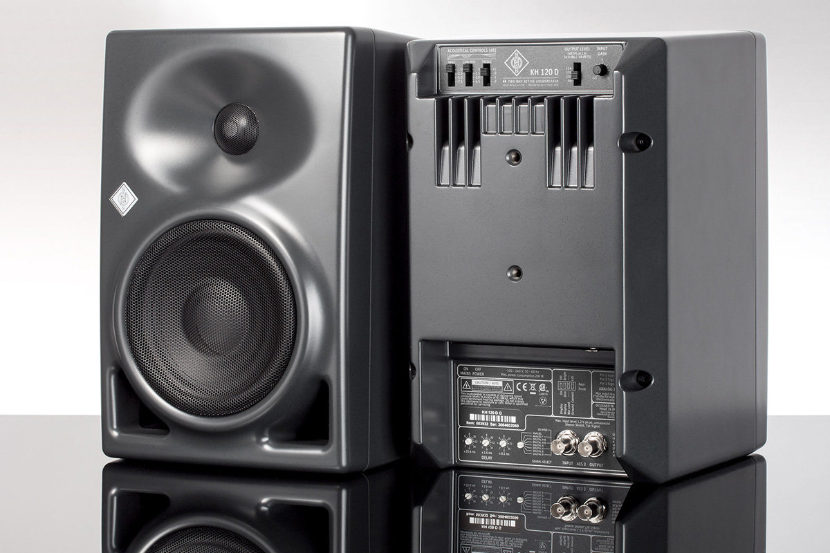 KH 120 D, a monitor of the Neumann KH Line with digital input module