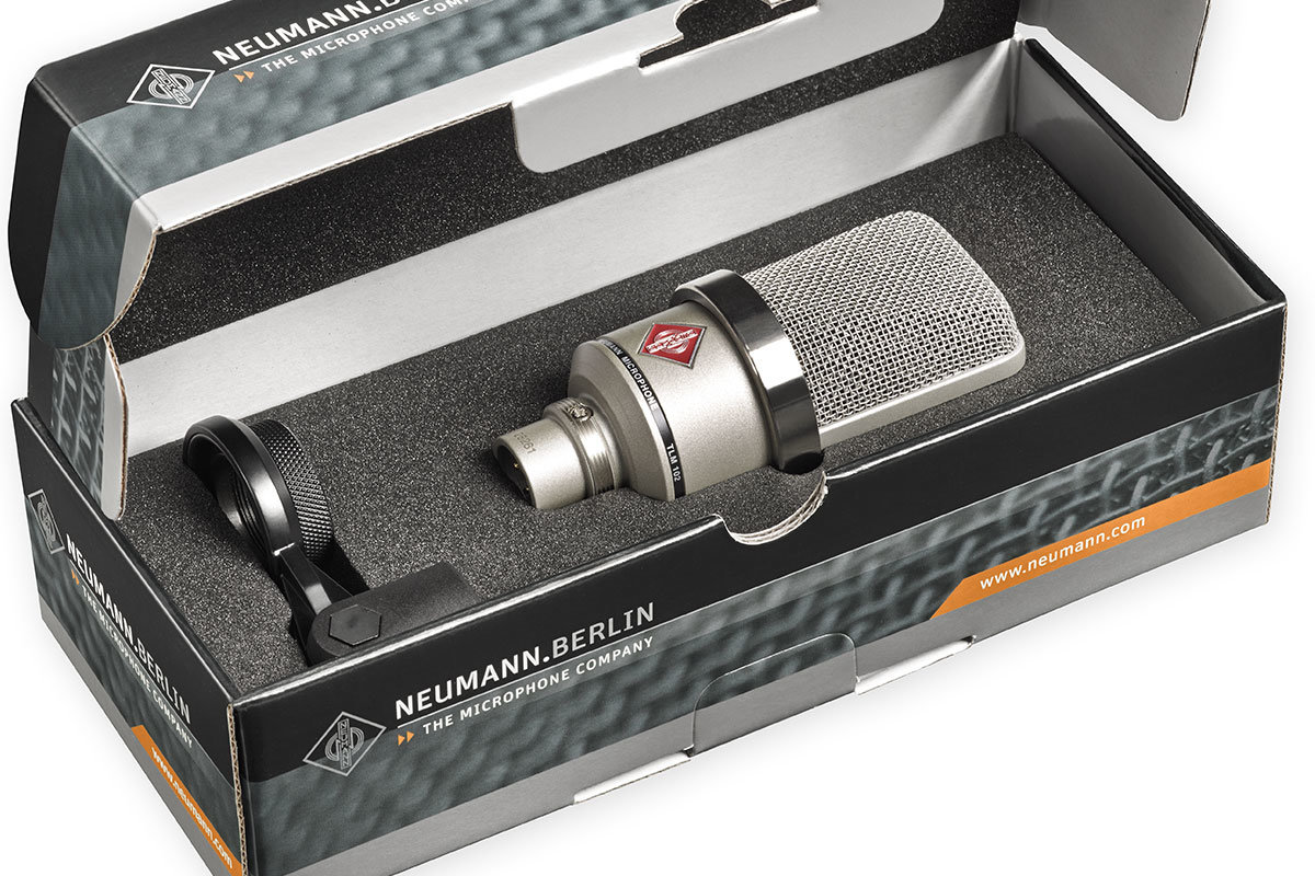 Neumann microphone TLM 102 Home Studio Edition