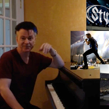 FOUND ON YOUTUBE: Lawrence Gowan, Solo artist and lead vocalist of the band Styx, about the Neumann KMS 105
