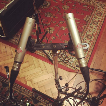 @312estudio loves Neumann KM 184 microphones