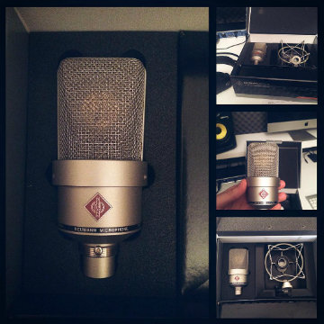 @good_morning_yesterday recorded new songs with a Neumann microphone