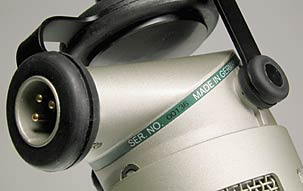 BCM 705 broadcast microphone: Detail view