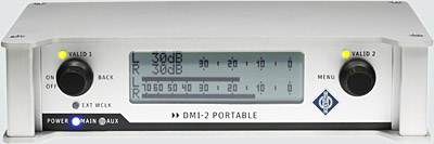 Interface portable DMI-2 : face avant