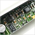 PCB of the KMS 105 vocal microphone