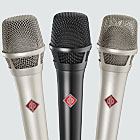Zoom:  KMS 104 and KMS 105 vocal microphones
