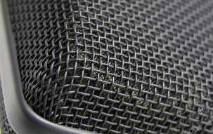 TLM 103 studio microphone: Detail view of the head grille