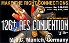 Neumann at the 126th AES convention in Munich