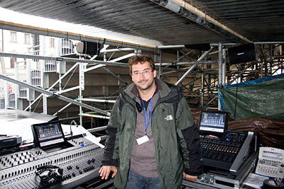 Audio Engineer Carsten Kuemmel